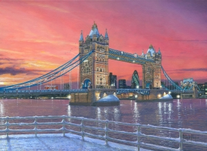 Tower Bridge after the Snow