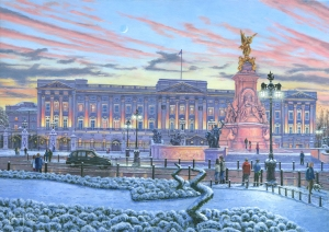 Winter Lights, Buckingham Palace, London