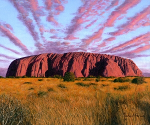 Uluru Sunset - Ayers Rock, Central Australia