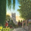 Summer Morning, St. Mary's Church, Tickhill